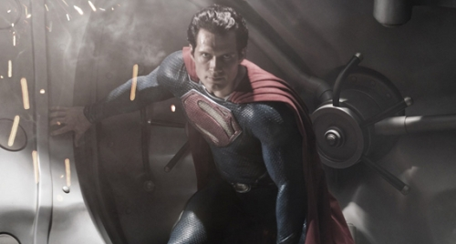 Henry Cavill as Superman in Man of Steel, © 2103 WB.